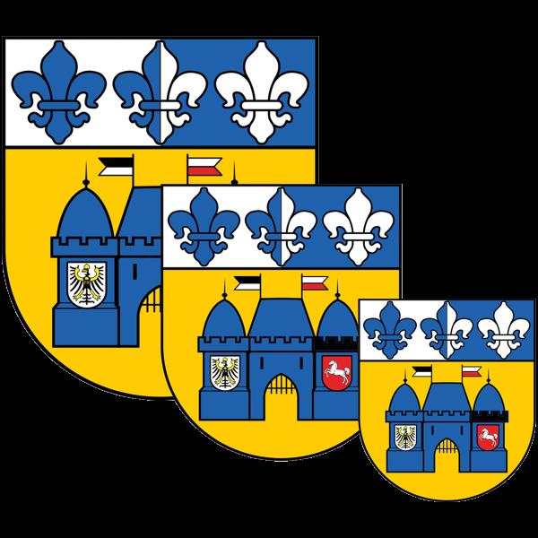 Aufkleber - Wappen Charlottenburg-Wilmersdorf