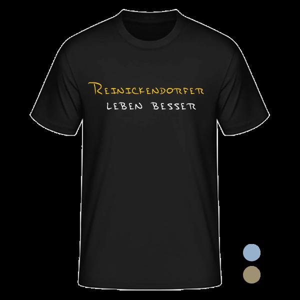 T-Shirt Reinickendorfer leben besser