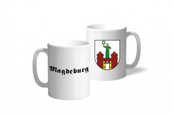Tasse Wappen: Magdeburg