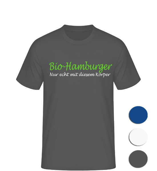 T-Shirt Bio-Hamburger