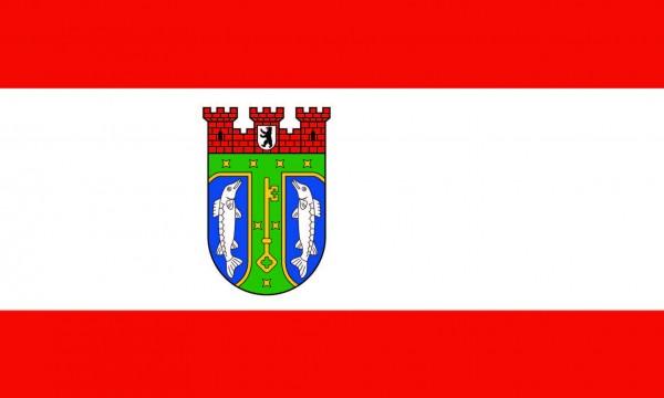 Treptow-Köpenick Flagge 50x30