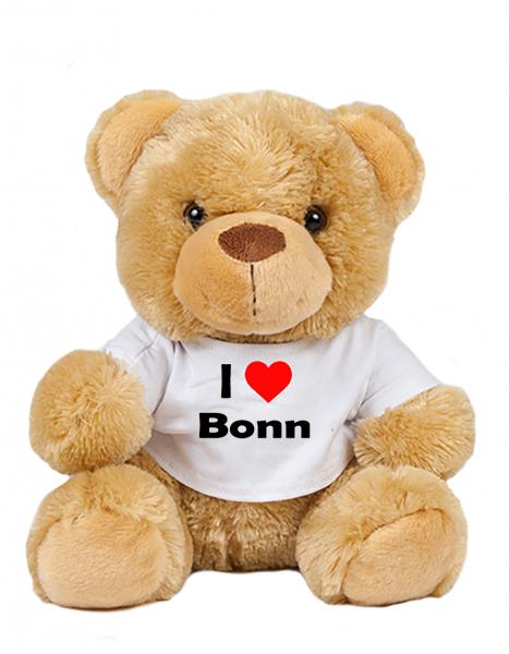 Teddy - I love Bonn - Plüschbär Bonn