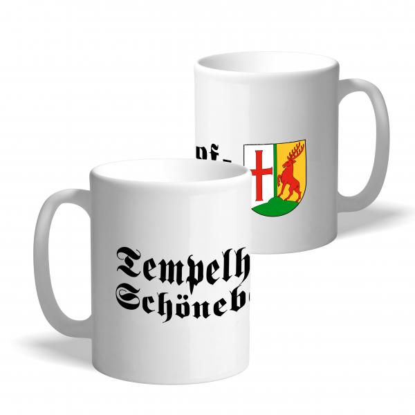 Tasse Wappen: Tempelhof-Schöneberg