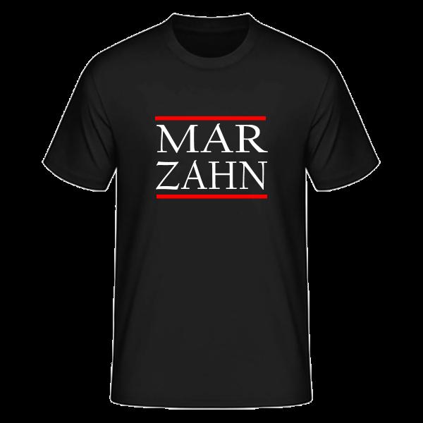T-Shirt Silben MAR-ZAHN (Run DMC Style)
