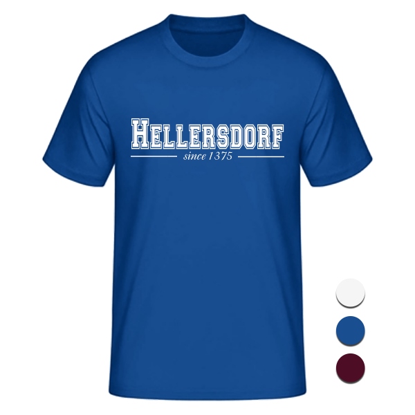 T-Shirt College Hellersdorf since 1375