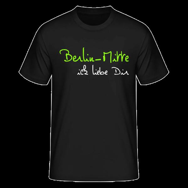 T-Shirt Mitte Ick liebe dir