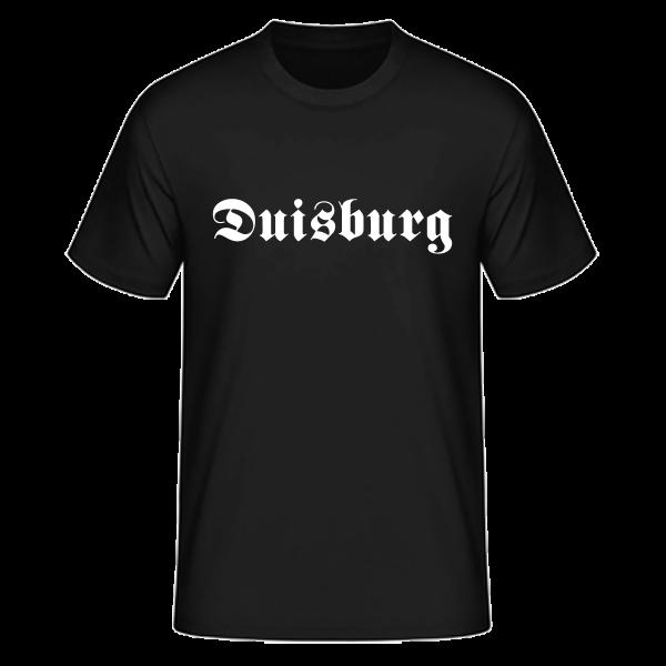 """Unisex T-Shirt Altdeutsch """"Duisburg"""""""