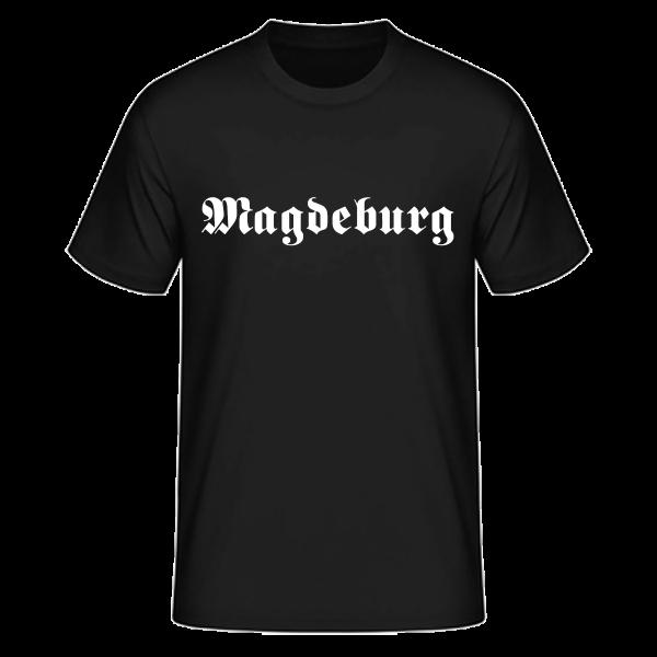 "Unisex T-Shirt Altdeutsch ""Magdeburg"""
