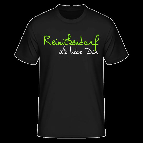 T-Shirt Reinickendorf Ick Liebe Dir