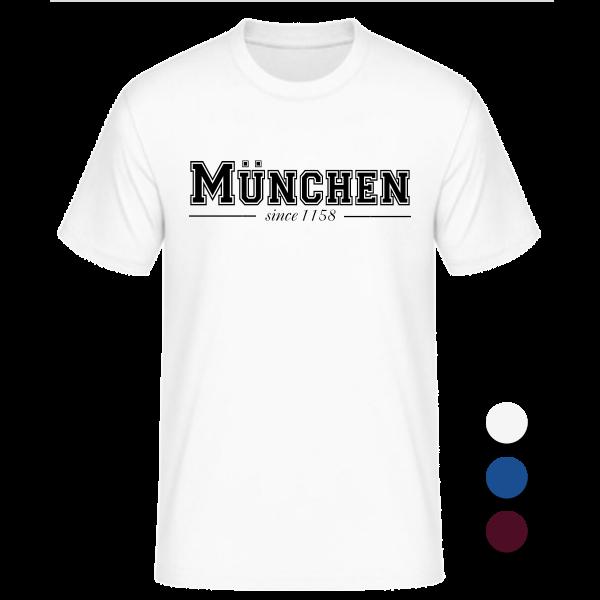 T-Shirt College München since 1158