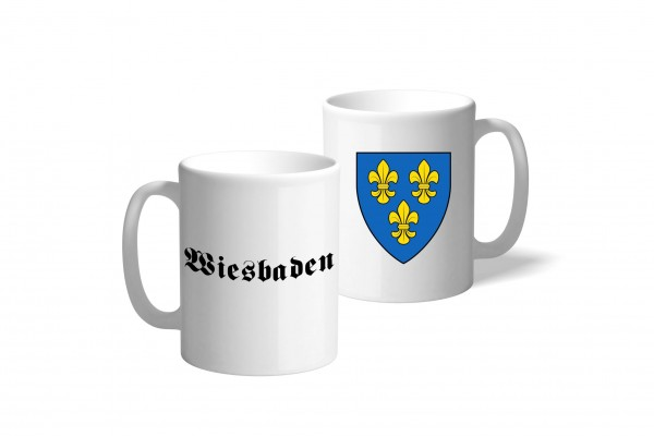 Tasse Wappen: Wiesbaden
