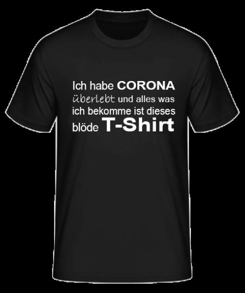 Coronivor - T-Shirt Ich habe überlebt