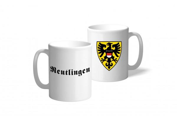 Tasse Wappen: Reutlingen
