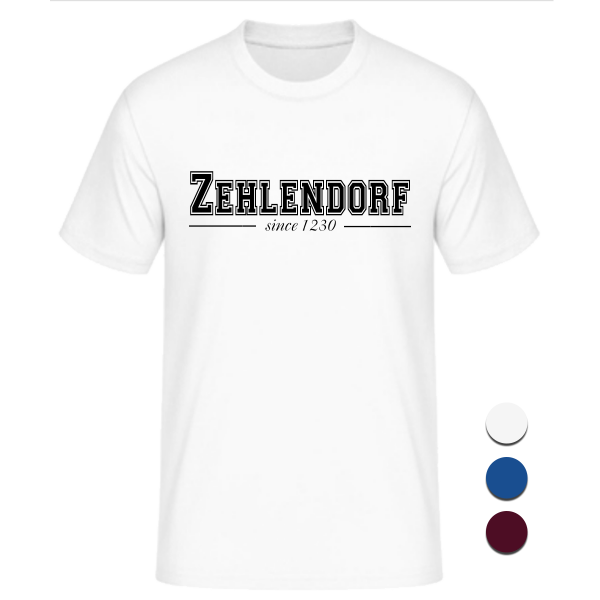 T-Shirt College Zehlendorf since 1230