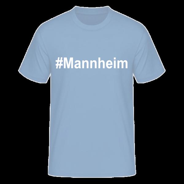 T-Shirt Kurzarmshirt #Mannheim
