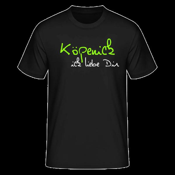 T-Shirt Köpenick Ick Liebe Dir