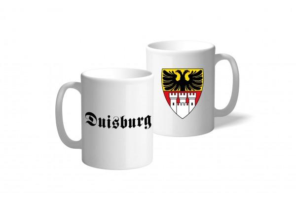 Tasse Wappen: Duisburg