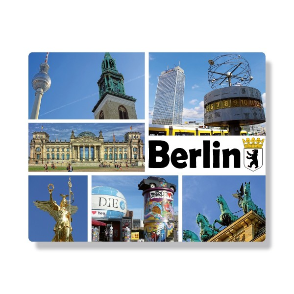Mousepad Berlin Collage