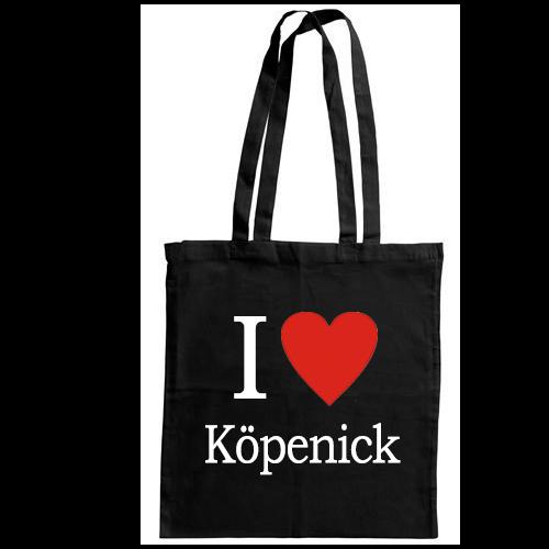 I love Köpenick - Jutebeutel
