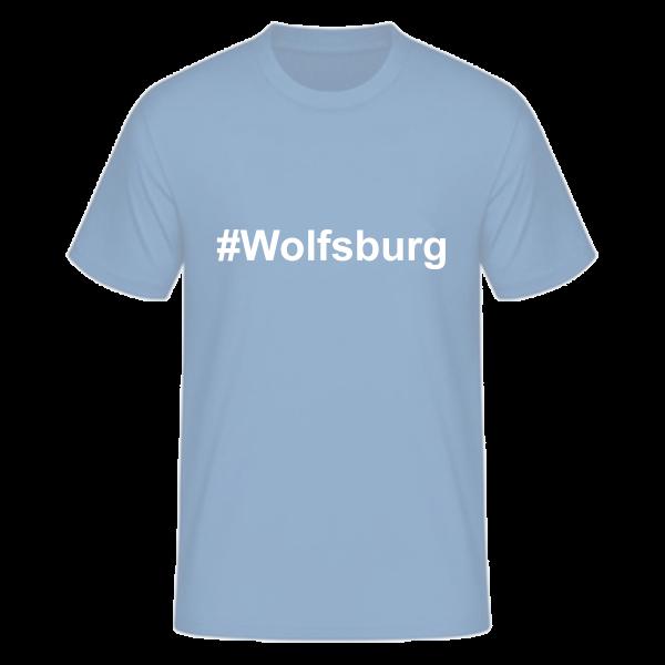 T-Shirt Kurzarmshirt #Wolfsburg