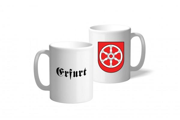 Tasse Wappen: Erfurt