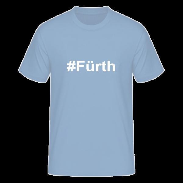 T-Shirt Kurzarmshirt #Fürth
