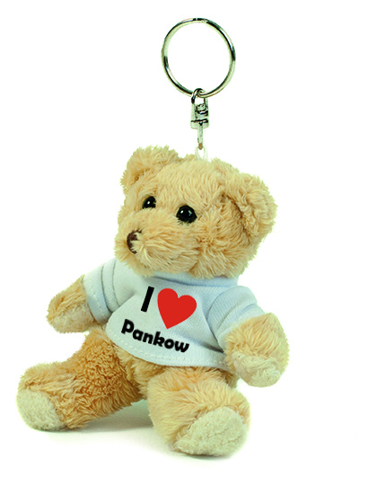 Teddy Schlüsselanhänger - I love Pankow