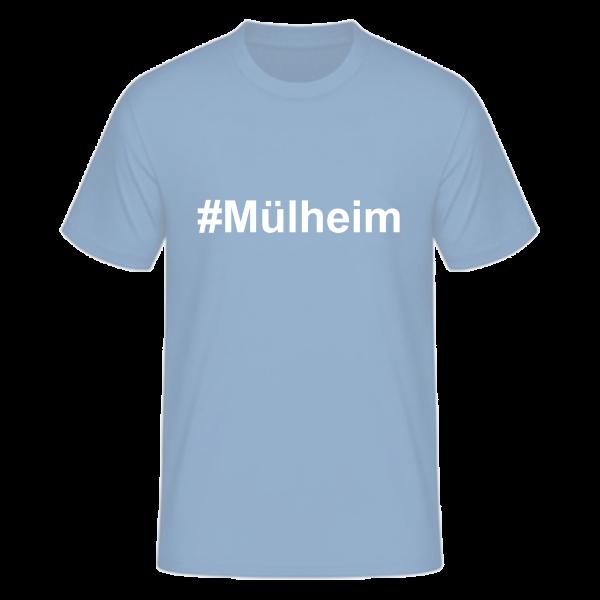 T-Shirt Kurzarmshirt #Mülheim