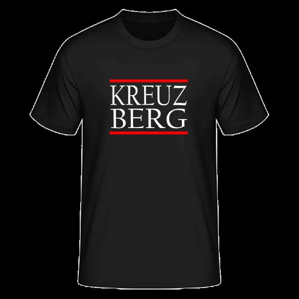 T-Shirt Silben KREUZ-BERG (Run DMC Sytle)