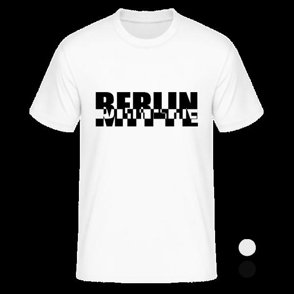 T-Shirt Mitte Schachbrett
