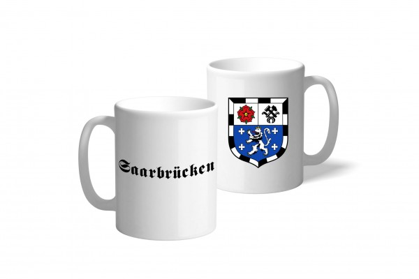 Tasse Wappen: Saarbrücken