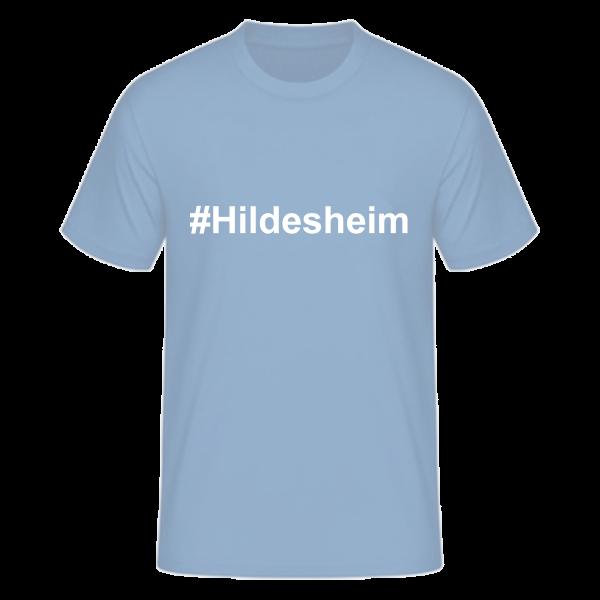 T-Shirt Kurzarmshirt #Hildesheim