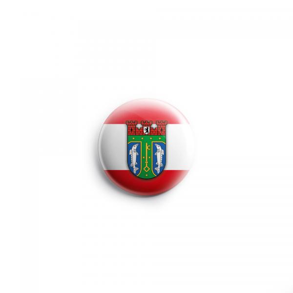 Button Wappen Treptow- Köpenick Wappen