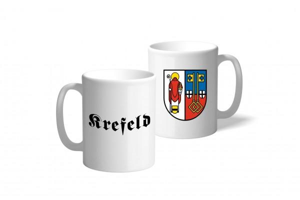 Tasse Wappen: Krefeld