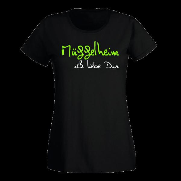 T-Shirt Müggelheim Ick liebe dir für Frauen