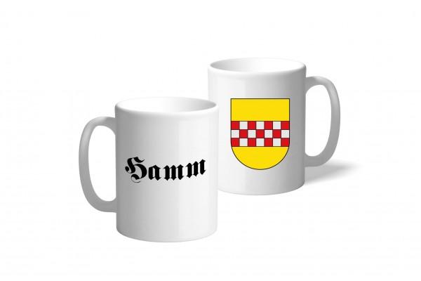 Tasse Wappen: Hamm