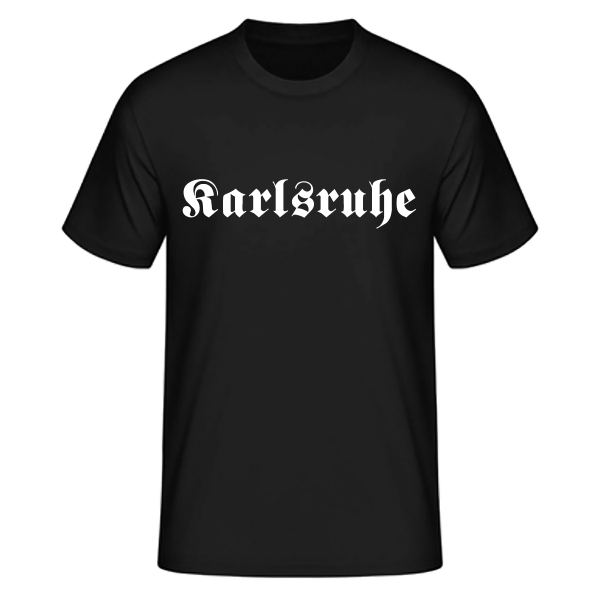 "Unisex T-Shirt Altdeutsch ""Karlsruhe"""