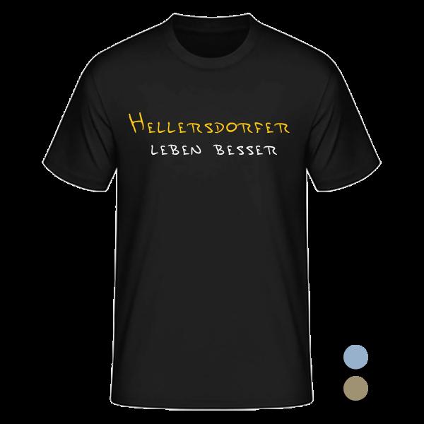 T-Shirt Hellersdorfer leben besser