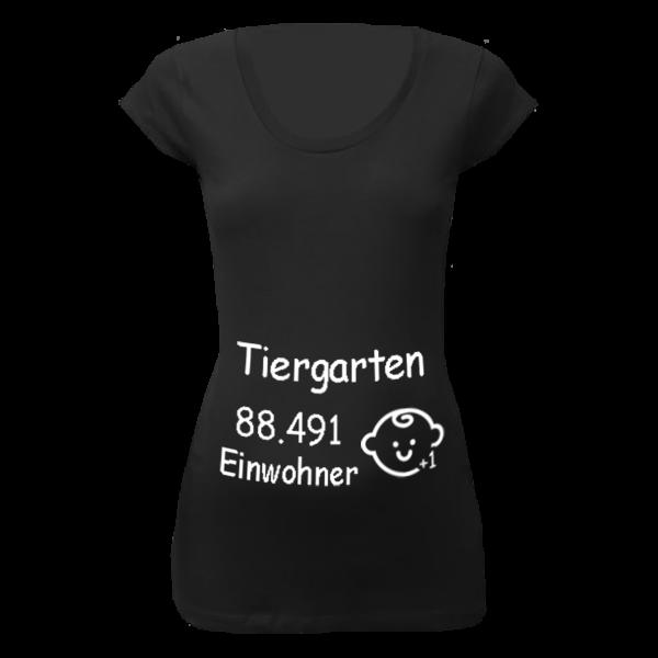 Tiergarten Einwohner + 1 T-Shirt für Schwangere Frauen