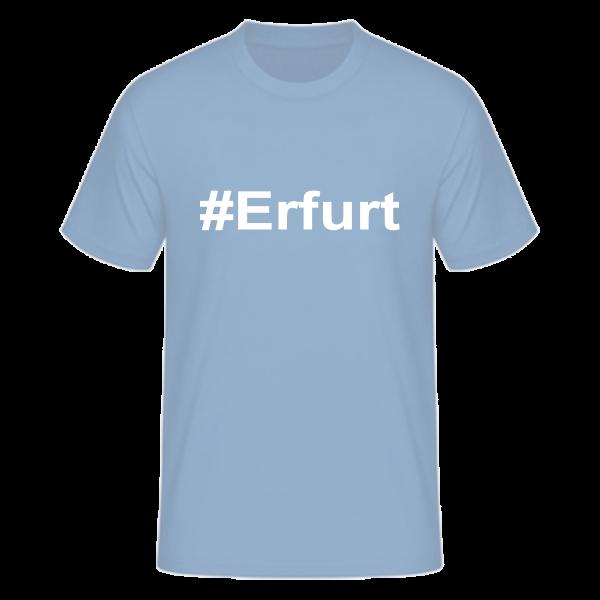 T-Shirt Kurzarmshirt #Erfurt