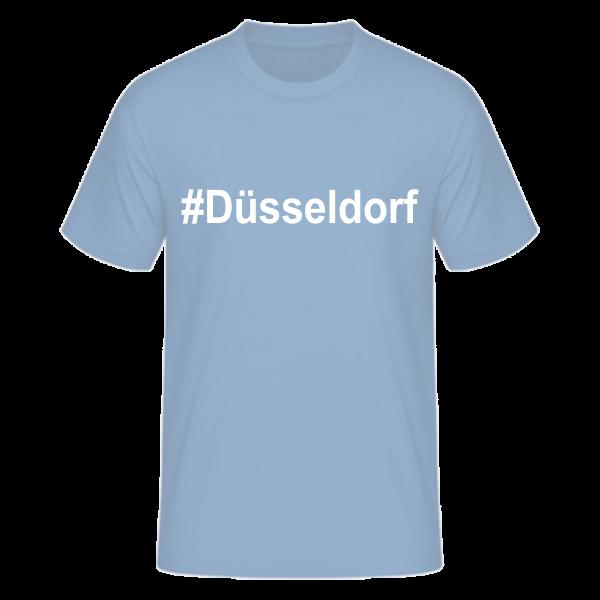 T-Shirt Kurzarmshirt #Düsseldorf