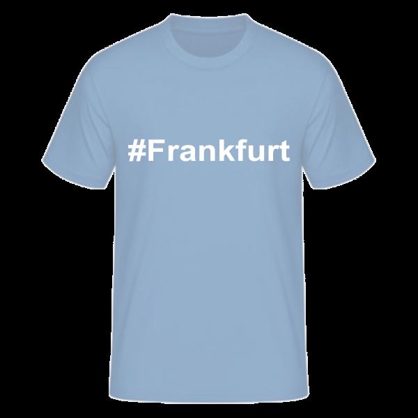 T-Shirt Kurzarmshirt #Frankfurt