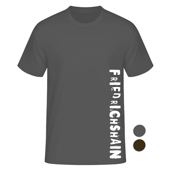 T-Shirt Friedrichshain (Motiv: Slam)