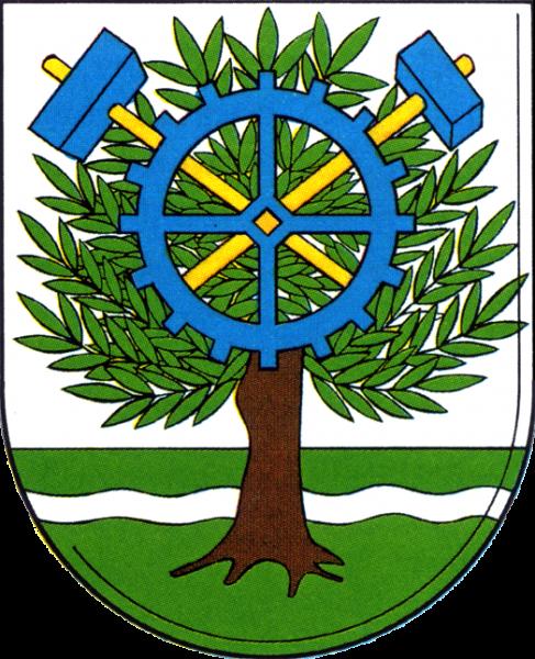 Aufkleber - Wappen mittelgroß (Oberschöneweide)