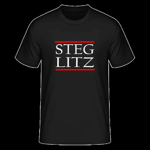 T-Shirt Silben STEG-LITZ (Run DMC Style)