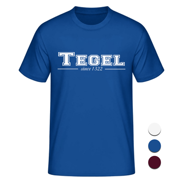 T-Shirt College Tegel since 1322