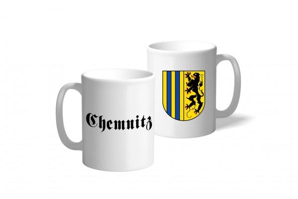 Tasse Wappen: Chemnitz