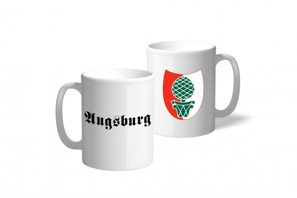Tasse Wappen: Augsburg