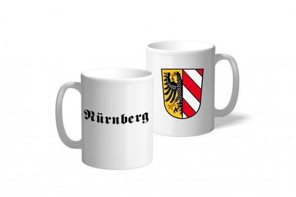 Tasse Wappen: Nürnberg