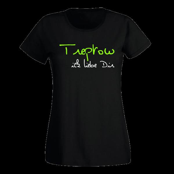 T-Shirt Treptow Ick liebe dir für Frauen